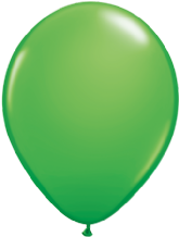 "Qualatex 11 inch Balloons - Spring Green 11"" Balloons (Fashion 100pcs)"